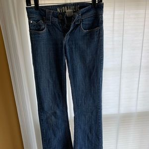 🌼Hydraulic Bootcut Jeans Size 3/4 Long